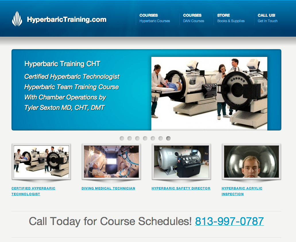 certified hyperbaric technologist photo Hyperbaric Training
