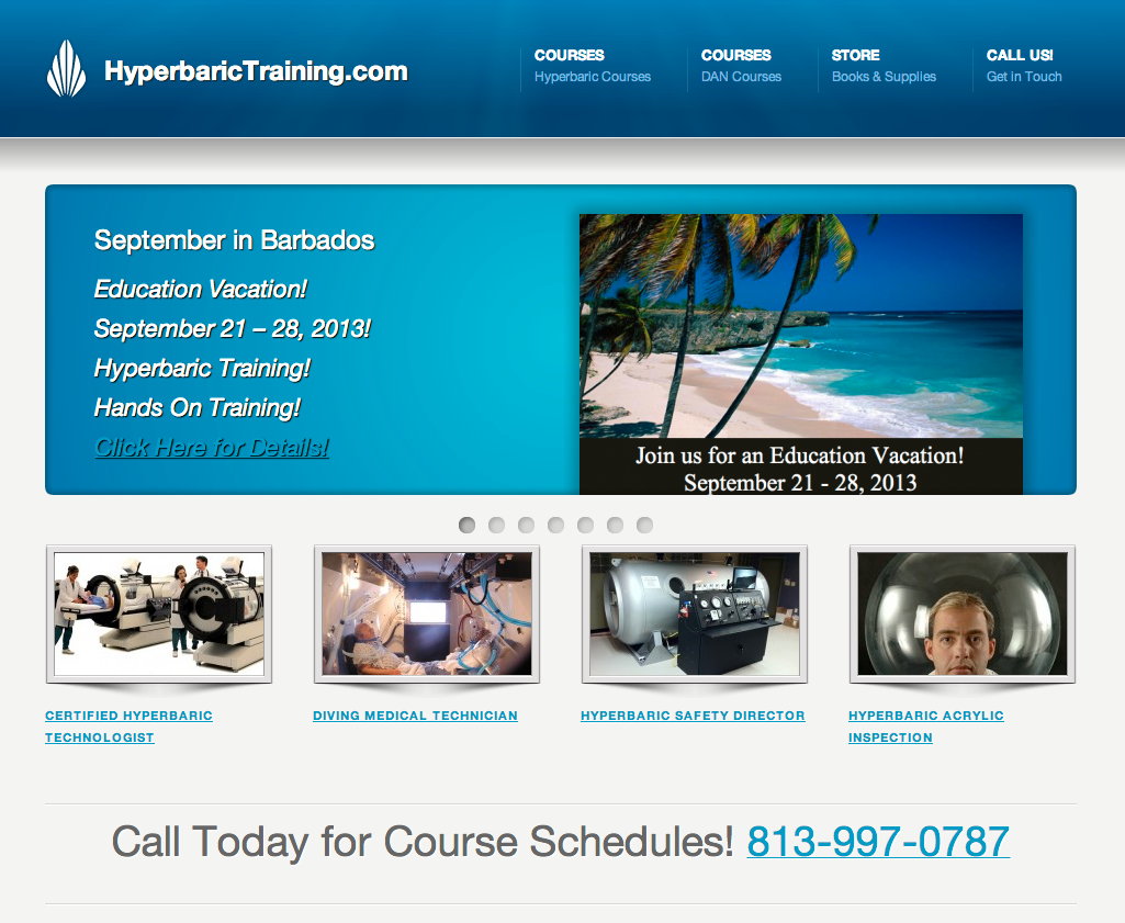 hyperbaric training course Hyperbaric Training